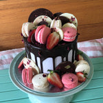 Gluten Free Macarons, Chocolates and Berries