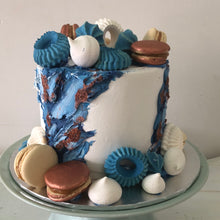 Load image into Gallery viewer, Painted Buttercream cake