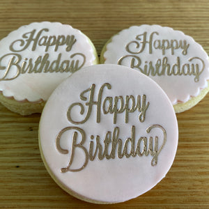Happy Birthday Cookie Script