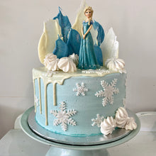 Load image into Gallery viewer, Ice Princess Party Cake