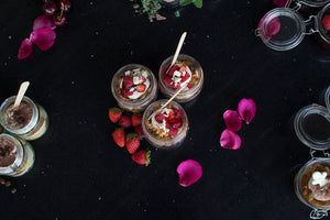 Limited edition Berry Cheesecake dessert jars