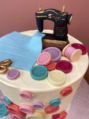 Sewing Cake Design