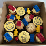 Blocks (lego) theme dessert box