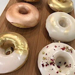 Donuts Metallic Decorations