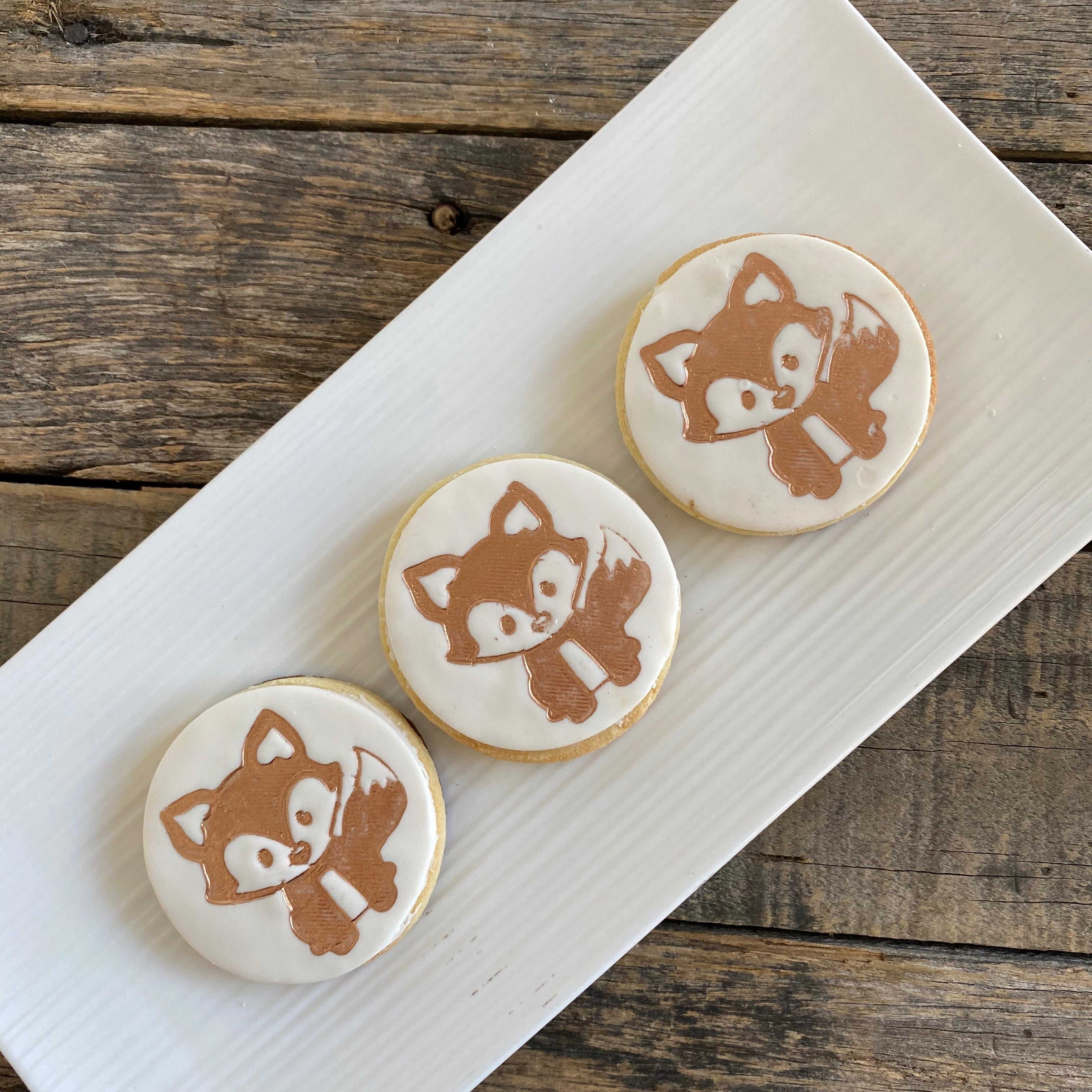 Woodlands Critter Cookie