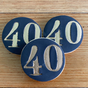 "Number cookie ""40"""
