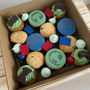 Gaming theme dessert box