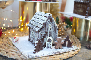 Chocolate Christmas House