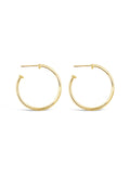 9 A.M. Hoop Earrings