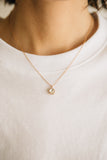 Primrose Diamond Necklace // 14K Rose Gold