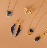 gold and lapis jewelry