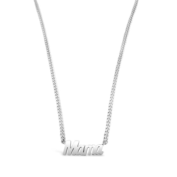 silver big mama necklace