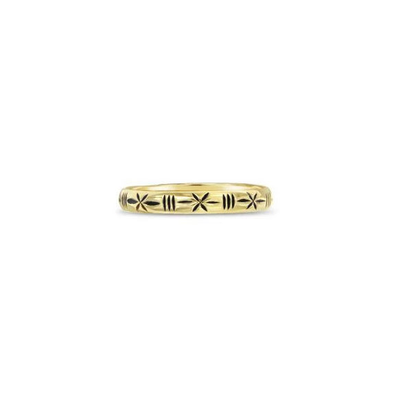 dainty 14k gold ring