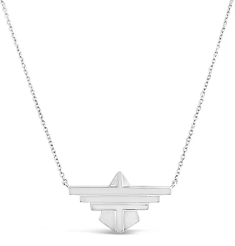 silver thunderbird pendant necklace