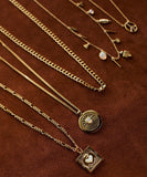 gold sierra winter jewelry necklace chains