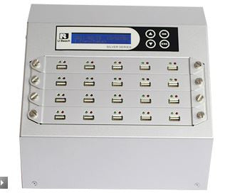 1-19 Intelligent 9 Professional USB Duplicator