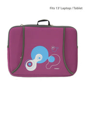 Printed Protective Laptop/ Tablet Sleeve-  Fits13'
