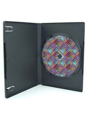 Black DVD Case- Single Disc  ( Carton of 100)