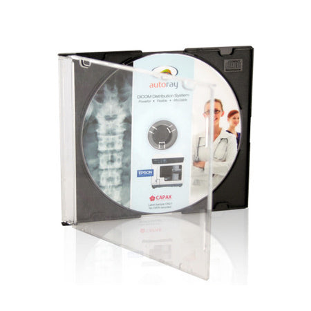 Printed CD DVD in Slimline Jewel Case