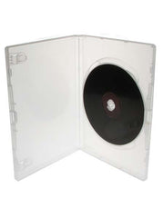 Clear DVD Case- Single Disc  ( Carton of 100)