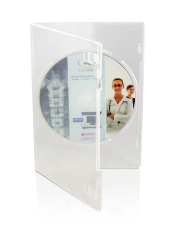Clear 1- Disc Slimline DVD case- 7mm ( Carton of 200)