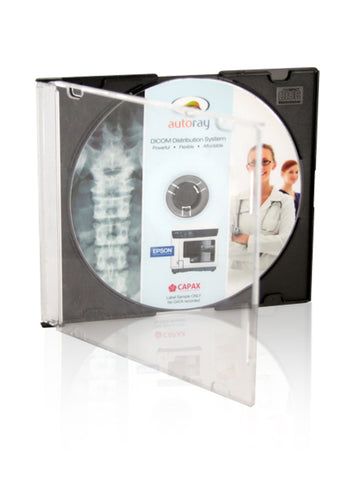 Slimline CD Jewel case with Black Base ( carton of 200)