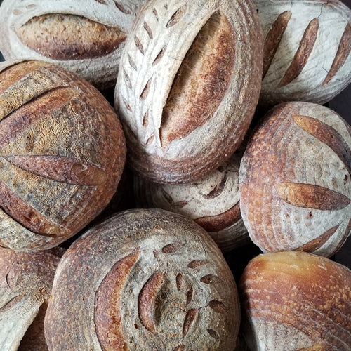 <! 2>Artisan Sourdough Loaves <br><b>Thursday<br>April 15</b>