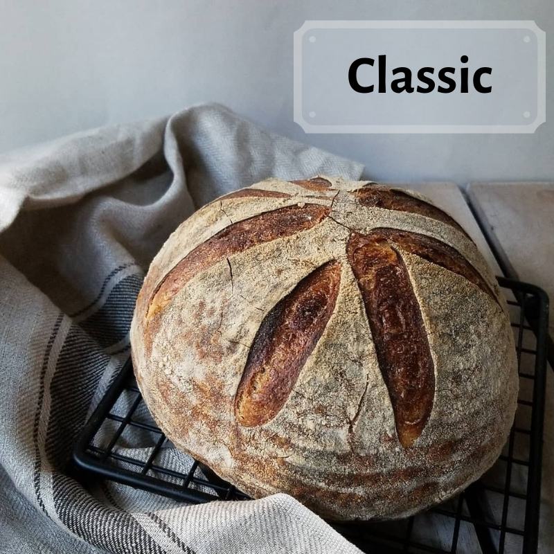 <! 3>Artisan Sourdough Loaves <br><b>Thursday<br>August 13</b>