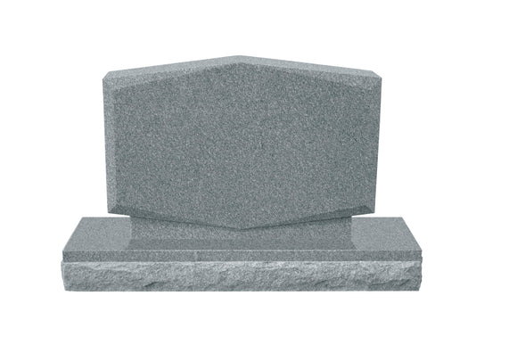 Upright Mini Pet Memorial #2 - Grey