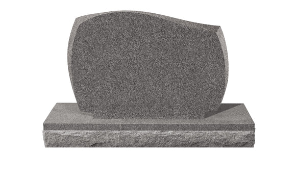 Upright Mini Pet Memorial #4 - Grey