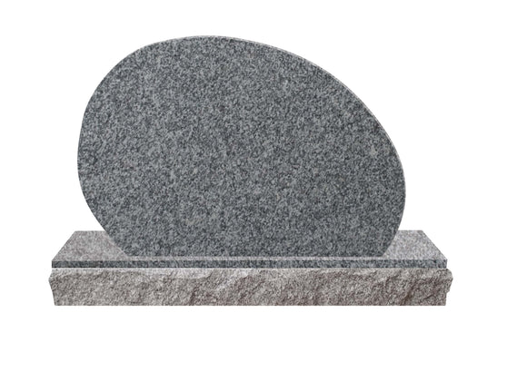 Upright Mini Pet Memorial #3 - Grey