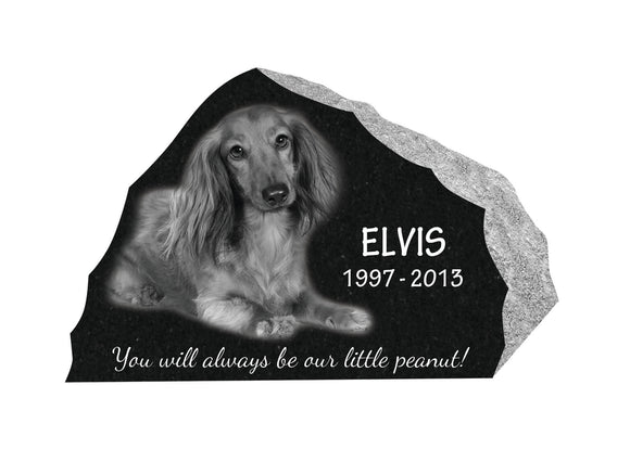 Rustic Style Pet Memorial #1
