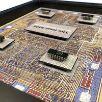 Intel 4004 - The World's First Microprocessor with Chipset 4001, 4002, 4003