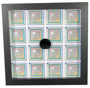 Silicon Wafer with Early Bipolar Transistors - 1 inch, 30mm, Planar, Fairchild?