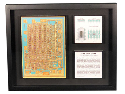 The Intel 3101 - The First Memory Chip