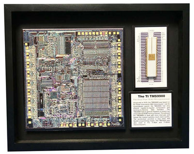 Texas Instruments 9900 - First True 16-bit Microprocessor