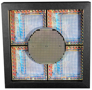 Gaming is a RIOT - Rockwell 6532 RIOT Silicon Wafer - MOS