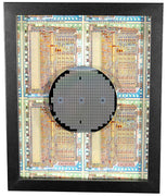 Silicon Wafer with 6502 Microprocessor Chips - 4 inch, Rockwell, MOS