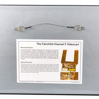 1976 Fairchild Channel F Videocart - The First Game Cartridge