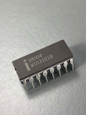 Intel 4004 - The World's First Microprocessor, D4004, 1980, Philippines
