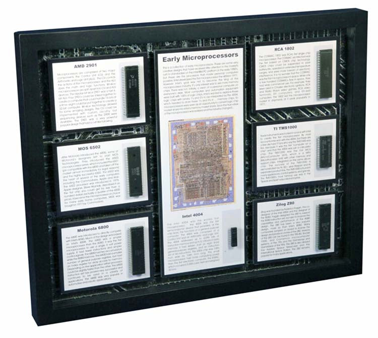 Microprocessors - The Early MPUs - 4004, 6502, 6800, Z80, TMS1000, 1802, and 2901