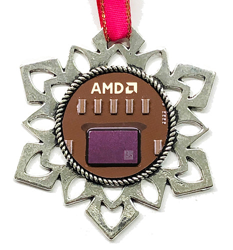 ChipScapes Set  #2:  Flip Chips - AMD, IBM, and S3 (3 Ornaments)