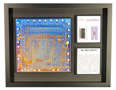 NEC µPD751 - The 4th Microprocessor, Japan's 1st - 751, D751C, uPD751C