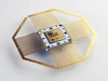 Sandia National Labs - 368603 Logic Chip - Sandia Logo, NOS, Gold/White