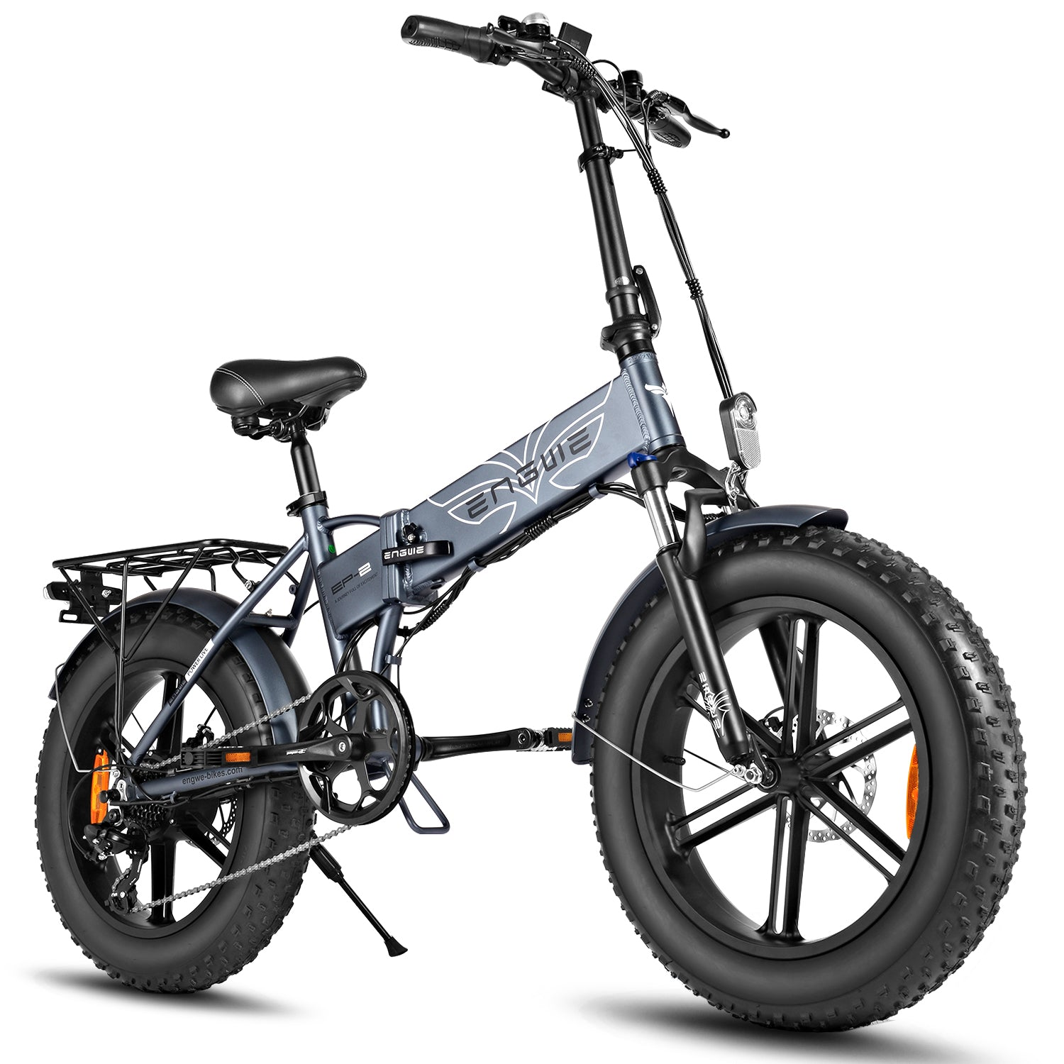 EP-2 500W Folding Electric Mountain Bike