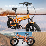 Load image into Gallery viewer, EP-2 500W Folding Electric Mountain Bike