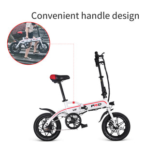 ENGWE PRID Folding Mini E-Bike with Pedal Power Assisted and Cruise Control