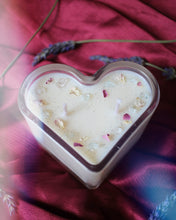 "Load image into Gallery viewer, ""Sally + Gillian"" Heart Candle"
