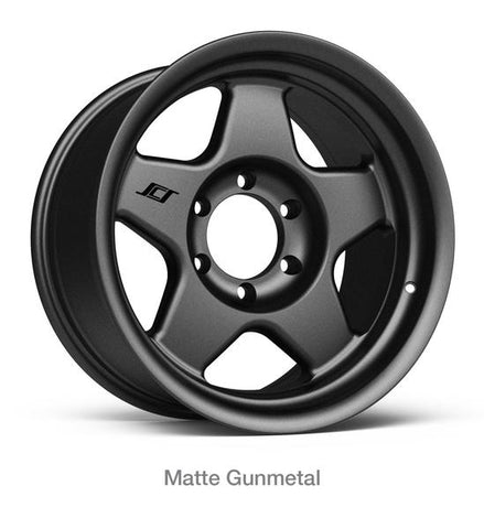 Stealth Custom Series F5 17X9 MATTE GUNMETAL set of 4