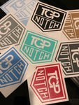 TOP NOTCH SHEILD LOGO DIE CUT
